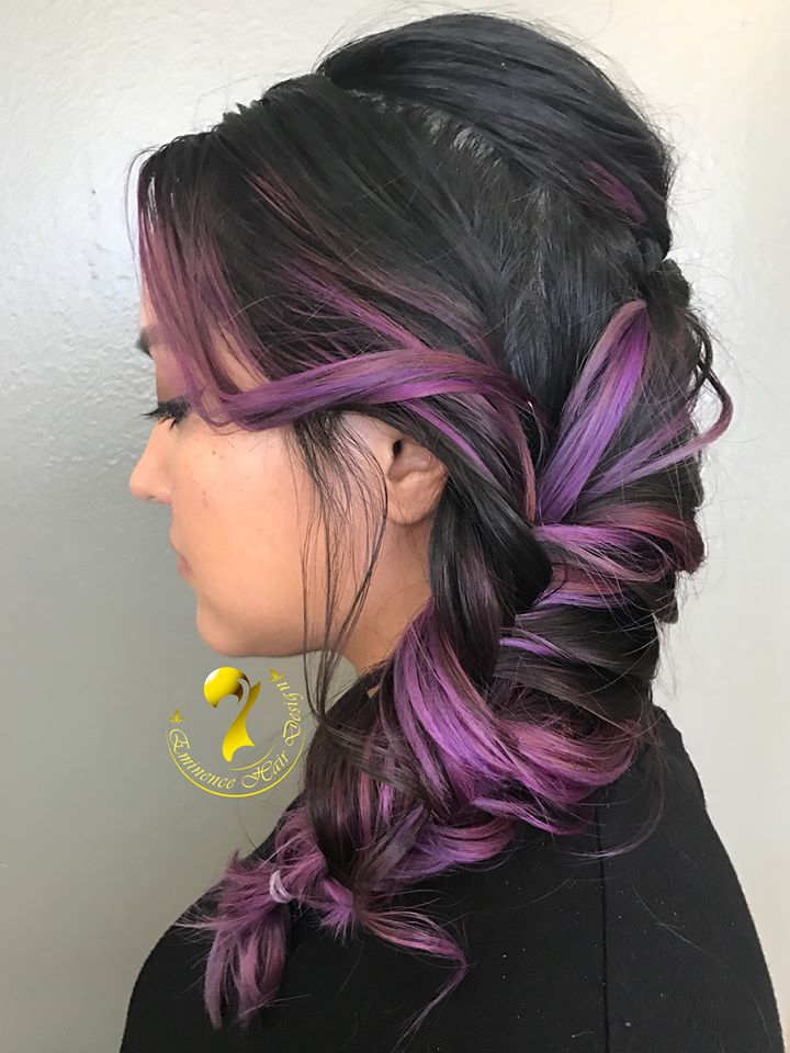 Violet Fish Tail